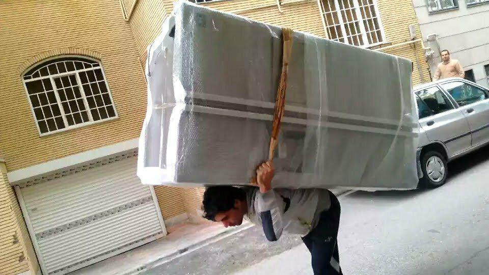 اثاث کشی تهران به دزفول