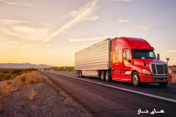 کرایه کامیون تهران به بوشهر